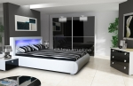 NOVA LED - czarny połysk
